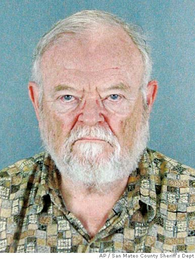 Dr. William H. Ayres appeared in a Redwood City courtroom Friday but did not enter a plea. Photo courtesy of the San Mateo County Sheriff's Dept. via AP